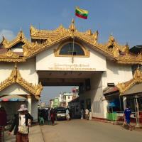 Myawaddy, Myanmar. 18